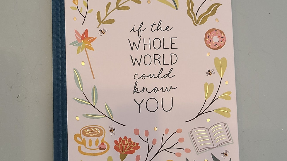 If the whole world could know you inspirational book