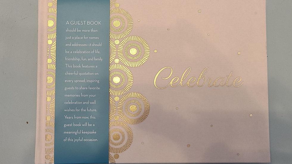 Celebrate guest book