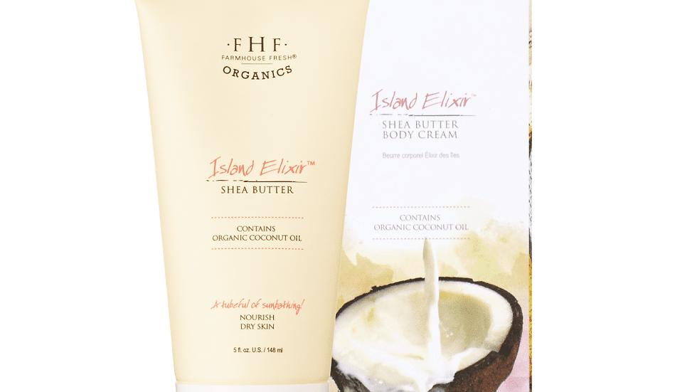 Island Elixir - Organic Shea Butter Body Cream