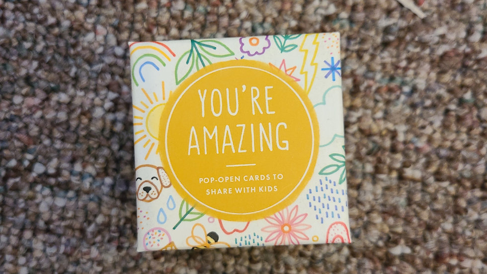 You're amazing kid cards