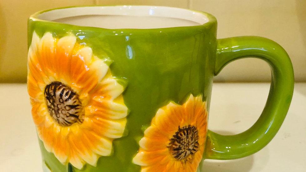 Helianthus Sunflower Mugs Collection