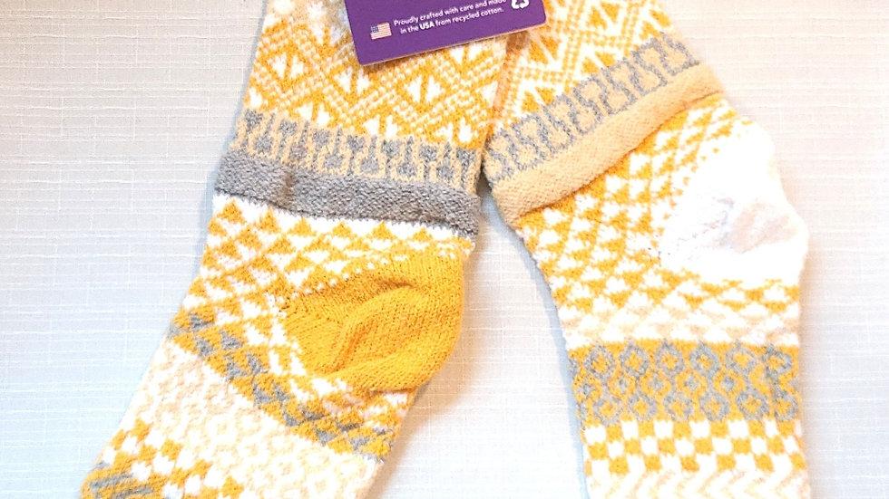 """Northern Sun"" Solmate socks"
