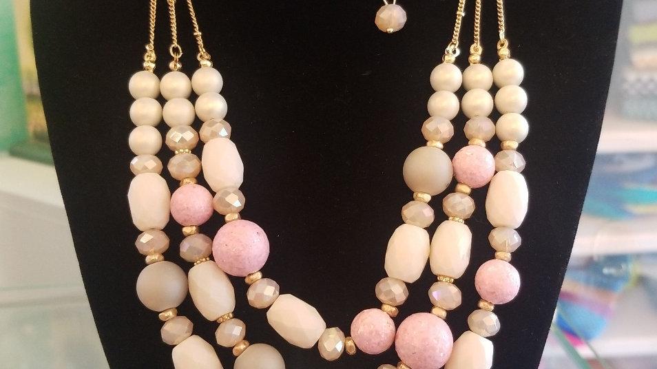 Venus Necklace earrings Set