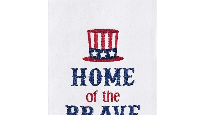 Home Of The Brave Towel