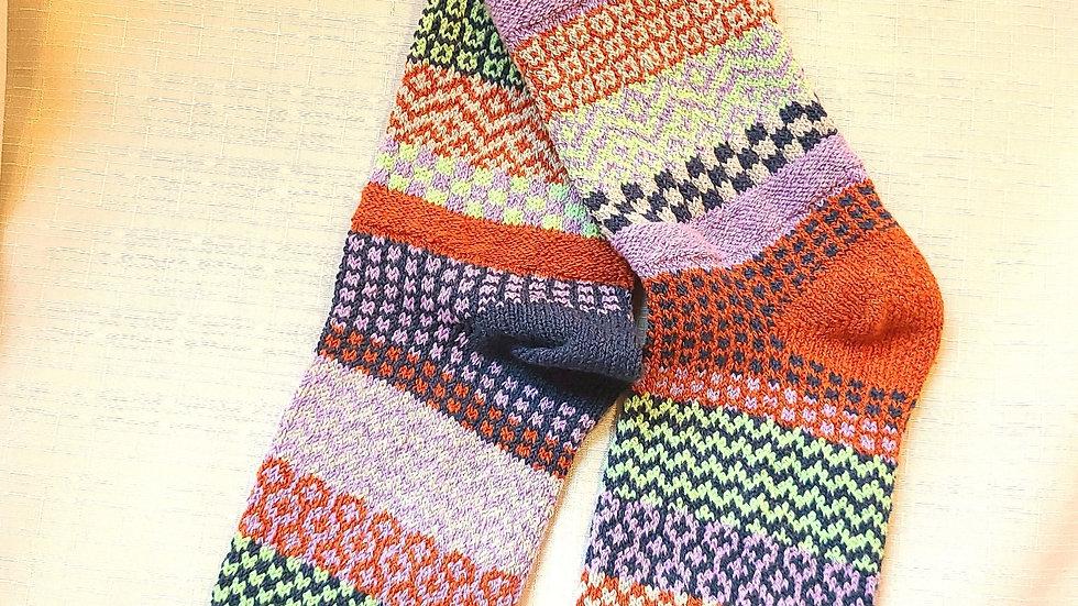 """""""Juniper"""" Solmate socks"""