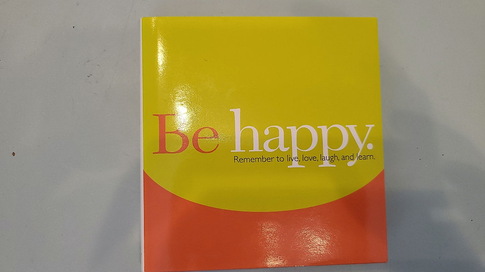 Be happy inspirational book