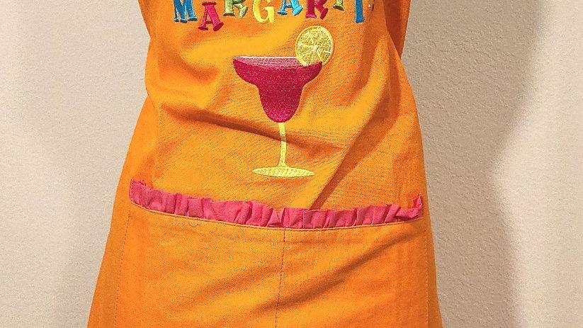 """I speak Spanish... MARGARITA"" 2 pockets apron"