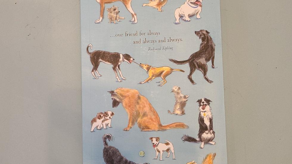 Man's best friend notebook