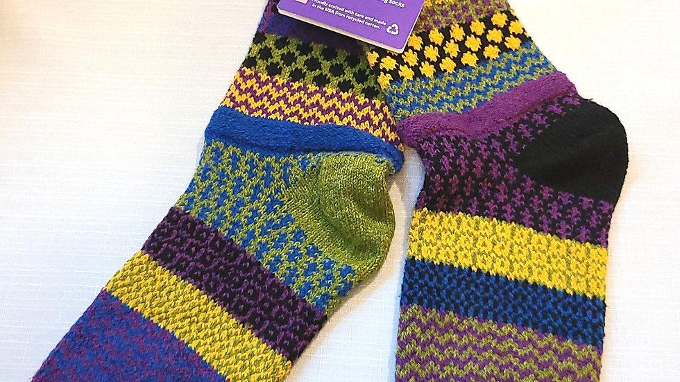 """October Morning"" Solmate socks"