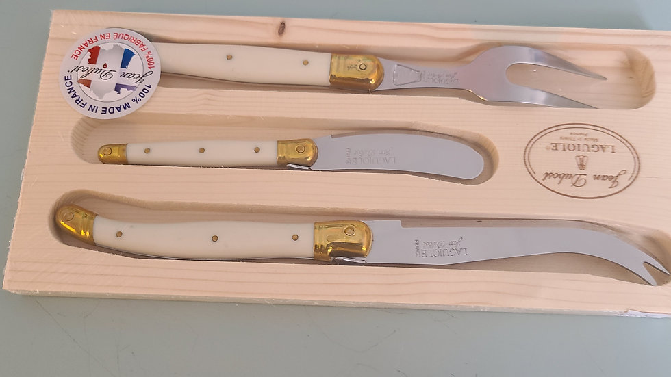 Laguiole Cheese Knives set of 3 piece