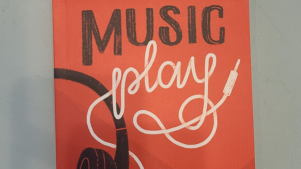 Let your music play notebook