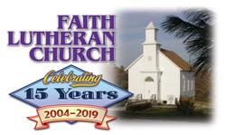 FaithLutheran Church 15 Logo