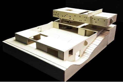 Maison Bordeaux model making