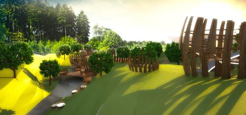 Landscape design --- Urban Follies