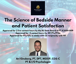 The Science of Bedside Manner and Patien