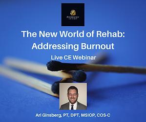 The New World of Rehab_ Addressing Burno
