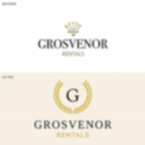 Grosvenor Rentals Rebrand