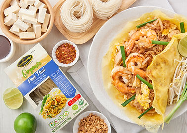 Organic Pad Thai Sutharos Thai