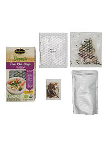 Organic Thai Tom Kha Soup Complete Meal Kit Set Sutharos Thai