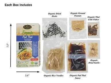 Complete Pad Thai Meal Kit Set Sutharos Thai