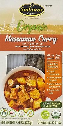 Organic Massaman Curry Sutharos Thai