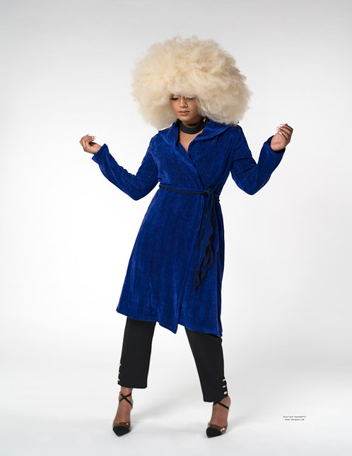 Blue Iris Windy City Coat