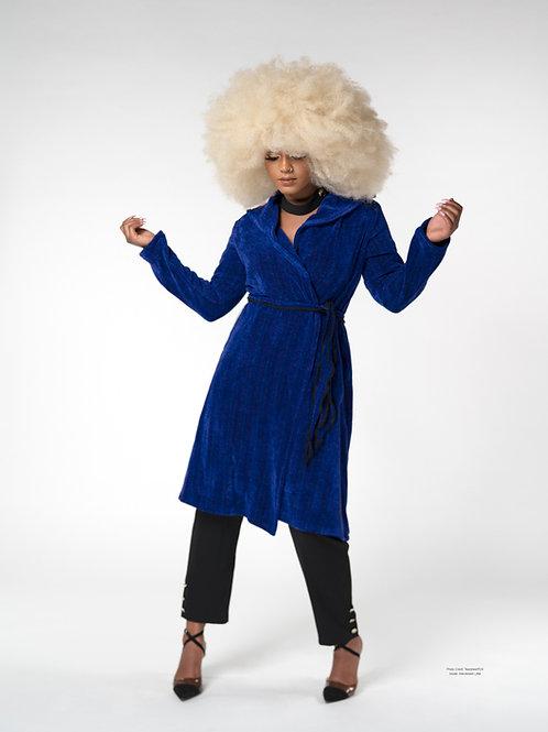 Blue Iris Windy City Coat