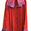 Paprika Red jacket with Thread Lace