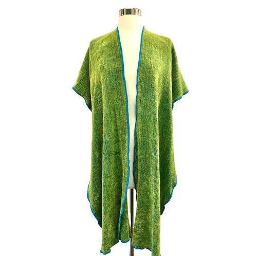 Vineyard Green Hooded Shawl