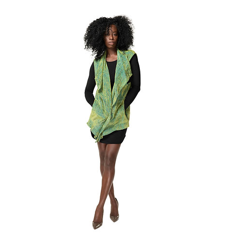 Vineyard Green Flutter Vest