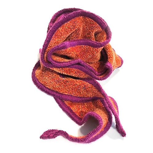 One Scarf Curl- Paprika