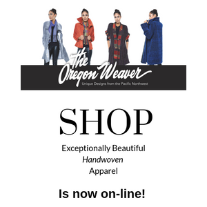 The Oregon Weaver now has an on-line shop.