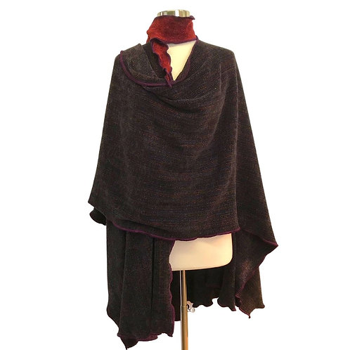 Espresso Brown Cape