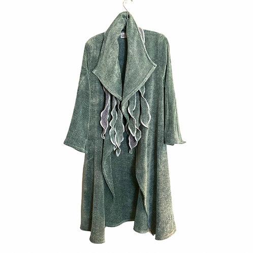 Windy City Coat in Celadon