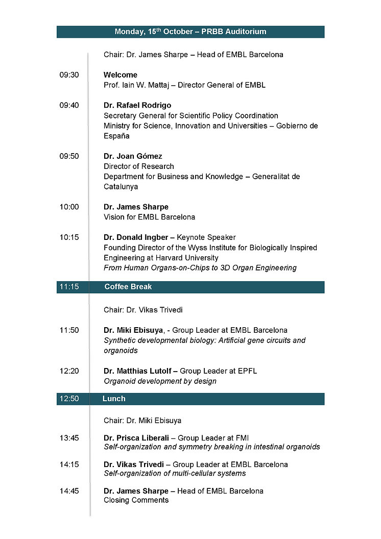 Programme Inauguration SymposiumWebsite.