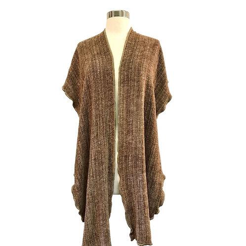 Camel Hooded Shawl