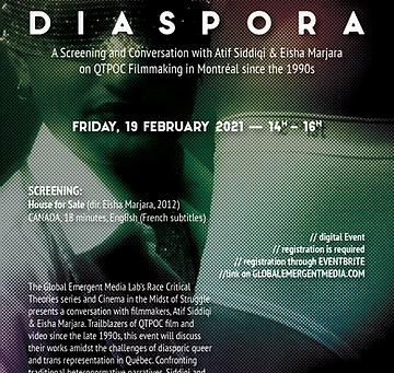 Upcoming Event: Documenting Queer Diaspora @ GEM Lab