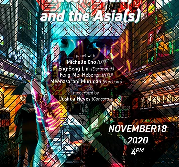 Event: Asymmetries: Race, Media and the Asia(s) @ Gem Lab