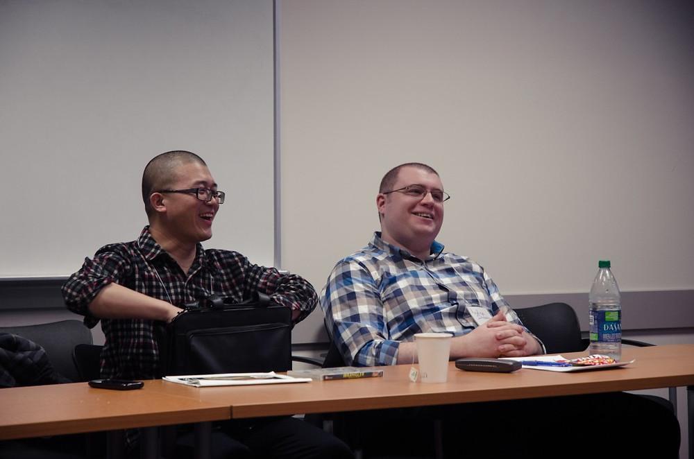 Mao and Andy SAGSA