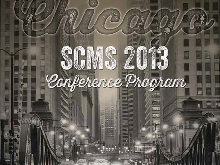 Shout Outs! SCMS Conference