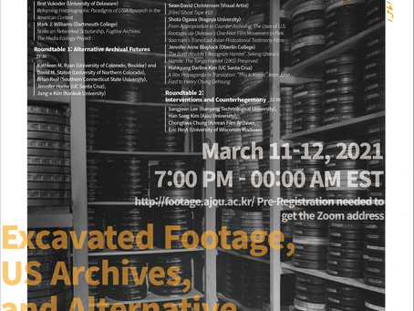 Workshop: Excavated Footage, US Archives, and Alternative Historiography