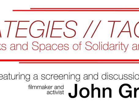 The CSGS Colloquium Series Presents: John Greyson