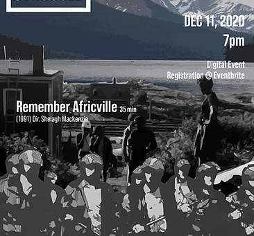 Cinema in the Midst of Struggle: Remember Africville & Incident at Restigouche w/ Delvina Bernard