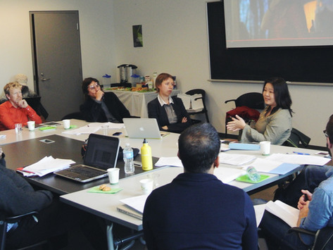 """Report from the """"Global Cultural Flows"""" workshop"""