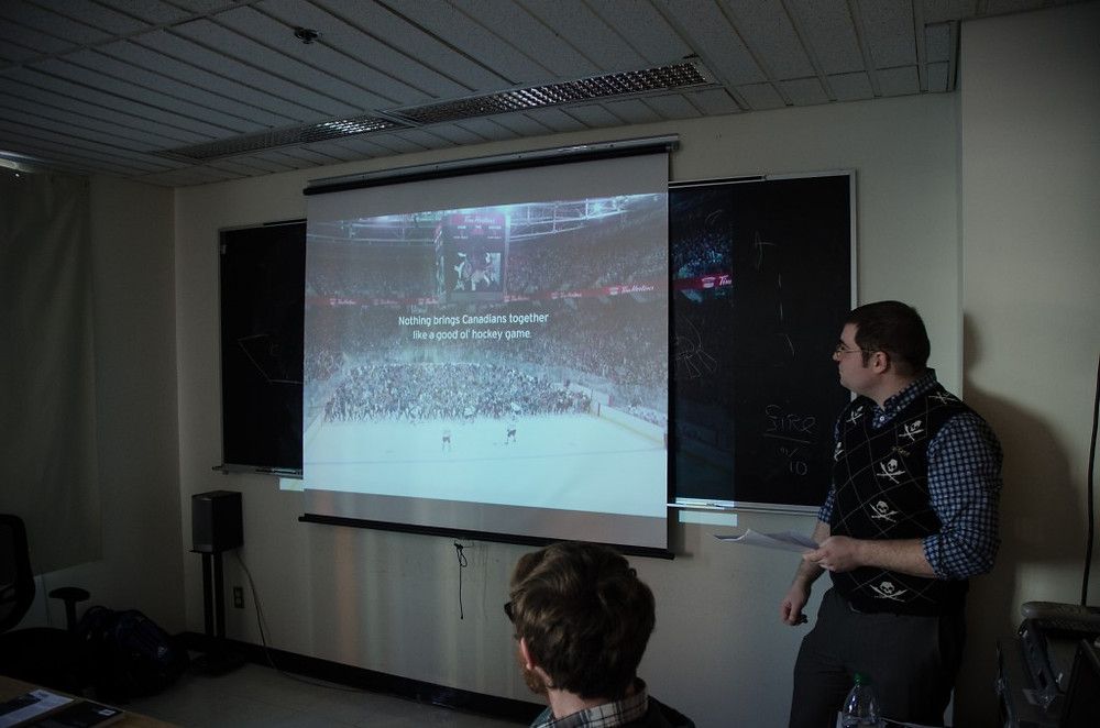 """Andy: """"Beyond the Boards: Cinematic & Televisual Representations of Ice Hockey in North America"""""""