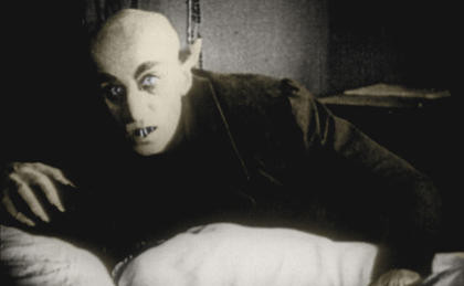 """Special Lecture March 17–""""Kingdom of Shadows: The Birth of the Cinematic Vampire"""""""
