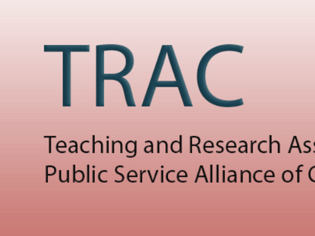 Join TRAC in their efforts to improve students' working conditions!