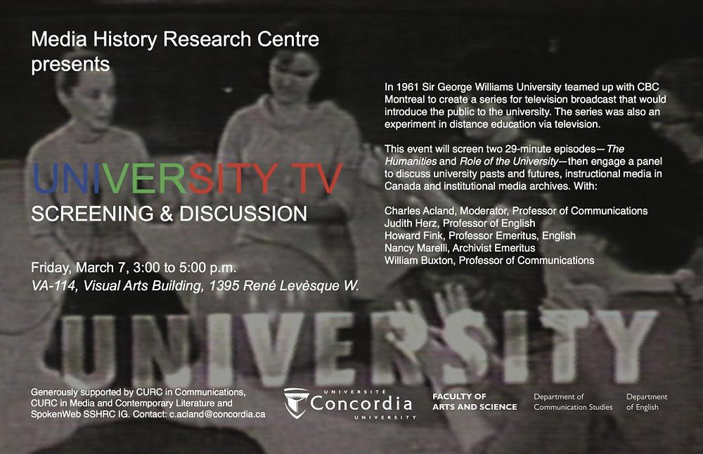university tv
