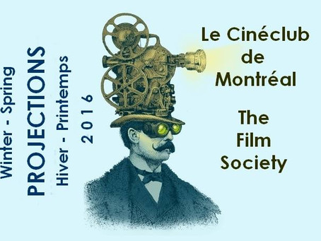 Le Cinéclub/The Film Society Presents its Winter/Spring Series: