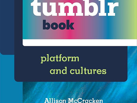 Upcoming Event: a tumblr book: Platforms and Cultures Roundtable